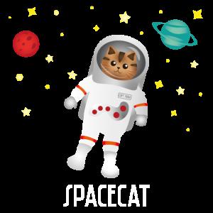 Katze Astronaut Weltall Weltraum galaxie Geschenk