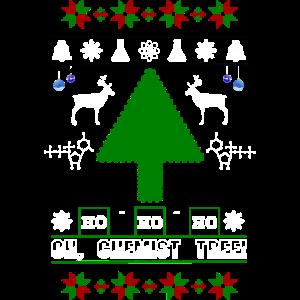 Oh Christmas Tree Chemist weiss