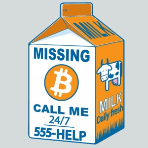 Missing :bitcoins
