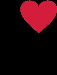 Valentinstag Shirt: I love my madl Ich liebe meine Freundin Girlfriend