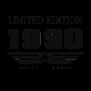 Geburtstag 1990 / Limited Edition /Jahrgang 90