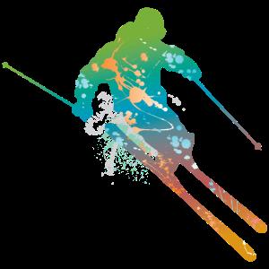 skiing male de