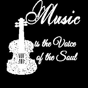 Musik ist die Stimme der Seele