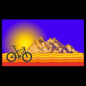 Berge Sonne MTB