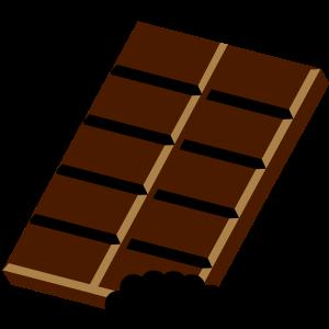 Eine Tafel Schokolade