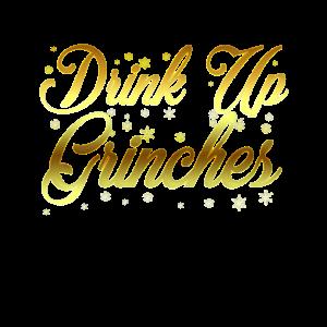 Grinch Weihnachten Trinken