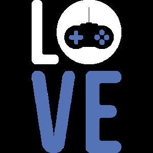 Gaming Love Computer Spiel Nerd Genie Geschenk