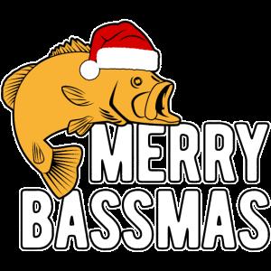 Barsch Angeln Nikolaus Lustiges Weihnachtsgeschenk
