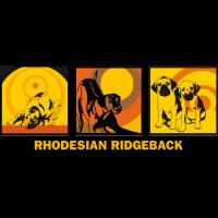 Rhodesian Ridgebacks Pop Art