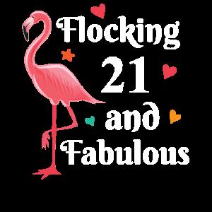 Flocking 21 and fabulous