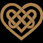 Cuore celtico, simbolo - infinito amore & fedeltà