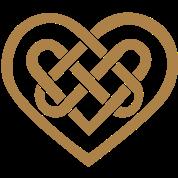 tee shirt coeur celtique symbole amour infini fid lit spreadshirt. Black Bedroom Furniture Sets. Home Design Ideas