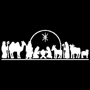 Krippe Jesus Kind Nativity heilige Könige Geschenk