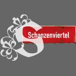 Hamburg Schanzenviertel Schild mit Initial