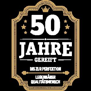 50 JAHRE GEREIFT