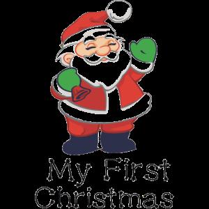 erste weihnachtsfest geschenk first xmas cute