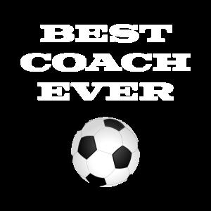 Best Coach Ever Fußball Trainer Geschenk Ballsport