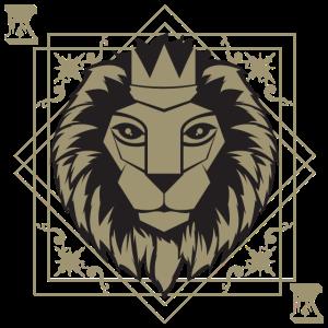 Spielkarten König Löwe Casino Glücksspiel Poker
