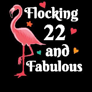 Flocking 22 and fabulous