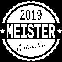 Meister bestanden 2019 Schule Prüfung Meisterbrief