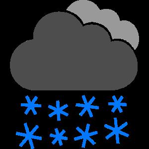 schnee, Schneewolke, Schneefall, Schneeflocken