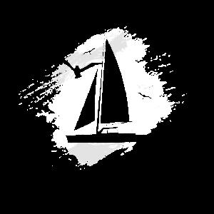 Segel T-shirt Segler Segelboot