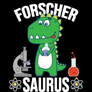 Forscher Saurus Wissenschaft Kinder Geschenk