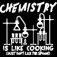 Chemie Löffel ablecken