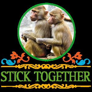 Stick together Freundschaft Geschenk