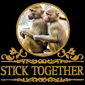 Stick Together. Freundschaft. Geschenk