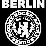 Berlin Rocks Rund Weiss Distressed