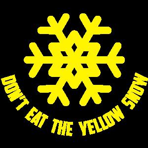 gelb schnee yellow snow