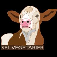 Kalb: Sei Vegetarier