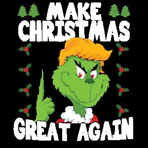 Donald Trump Grinch Weihnachten Lustig Geschenk
