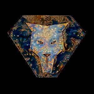 Schöner Löwenkopf