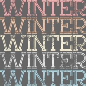 Winter Vintage Geschenk Dezember