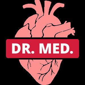 Dr. med. Herz Arzt Medizin Medizinstudent Ärzte