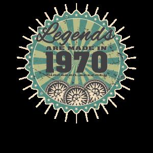 1970 Retro Geburtstag