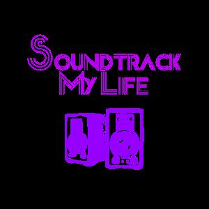 Soundtrack My Life Musik Liebe Beat Geschenkidee