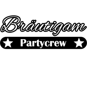 Junggesellenabschied Bräutigam Partycrew