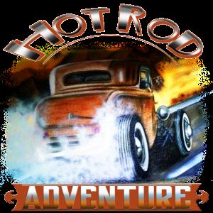 Hot Rod Adventure Airbrush-Design