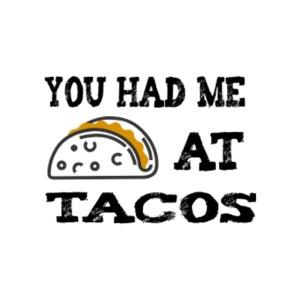 Sinä olet minulle Tacosissa