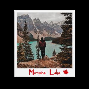 Polaroid Moraine Lake