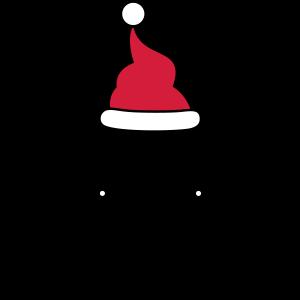 Lama Weihnachtsmann Nikolaus Weihnachten Geschenk