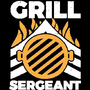 Barbecue BBQ Grill Sergeant - Vatertagsgeschenk