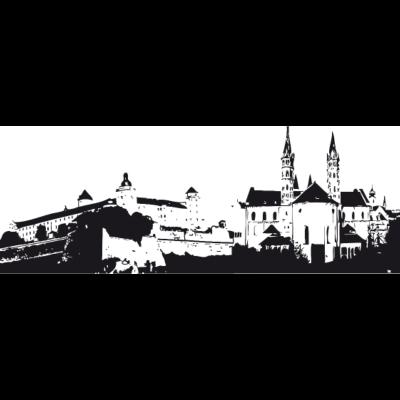 Würzburg 2 - Skyline Würzburg - stadt,skyline,drucken lassen,Würzburg,T-shirt,Print,Druck