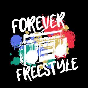Hip Hop Forever Freestyle Aquarell Sprühfarbe