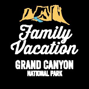 Nationales Familien-Ferien-Shirt des Grand Canyon