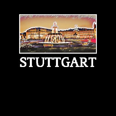 Stuttgart Stadt Skyline Deutschland Kunst - Auf dem Bild ist die Skyline mit atemberaubenden Sehenswürdigkeiten zu erkennen. - Wahrzeichen,Traum,Stadt,Sprüche,Spass,Skyline,Sehenswürdigkeit,Mosaik,Matura,Lifestyle,Kunst,Junggesellinenabschied,Junggesellenabschied,JGA,Hochhaus,Halluzination,Geschenkidee,Geschenk,Freude,Feier,Farbig,Deutschland,Crazy,Cool
