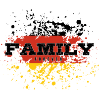 Familie Forever, in Manschafts - Outfit Geschenk